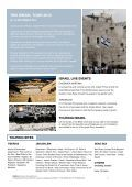 Tour The Holy Land Israel! - Omega Tours & Travel - Page 2
