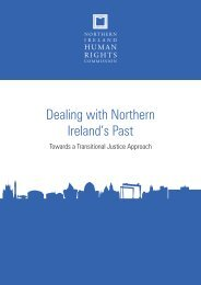 NIHRC Transitional Justice Report