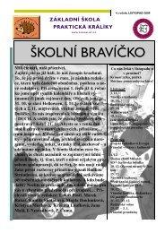 listopad - prosinec - Základní škola praktická a základní škola ...