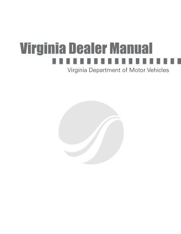 Ky motor vehicle commission dealer list as of kentucky for Virginia department of motor vehicle