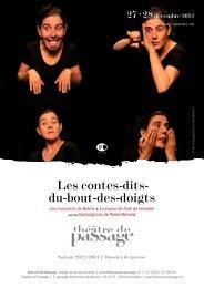 Les contes-dits- du-bout-des-doigts - Théâtre du Passage