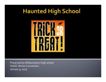 Haunted High School