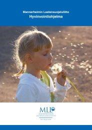 Hyvinvointiohjelma - Mannerheimin Lastensuojeluliitto
