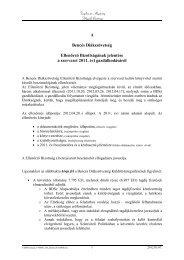 Ellenőrző Bizottság Jelentése - Bencés Diákszövetség
