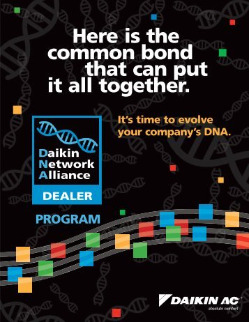 Here is the common bond that can put it all together. - Daikin AC