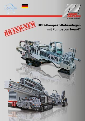 "HDD-Kompakt-Bohranlagen mit Pumpe ""on board"" - Prime Drilling ..."