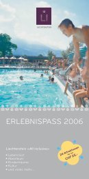 ERLEBNISPASS 2006