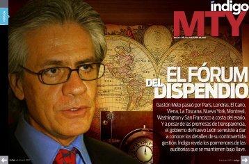 Gastón Melo paseó por París, Londres, El Cairo ... - Reporte Indigo