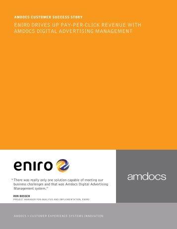 eniro drives up pay-per-click revenue with amdocs digital ...
