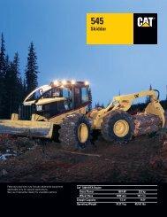 Cat 545 Skidder - AEHQ5339 - Kelly Tractor