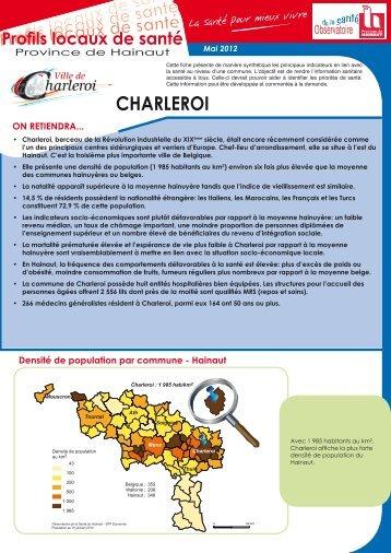 CHARLEROI - La Province de Hainaut