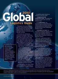 Global 2010 - Inbound Logistics
