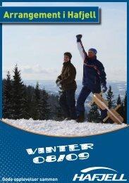 Last ned aktivitets programmet i pdf - Hafjell Alpinsenter