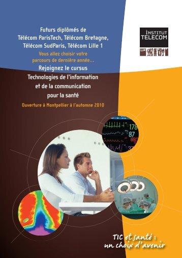 Brochure TIC et Santé - Télécom Bretagne
