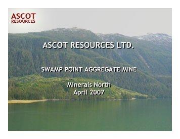 Swamp Point - Minerals North