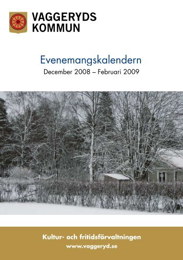 Evenemang 0811.pdf - Vaggeryds kommun