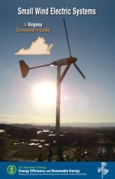 Small Wind Electric Systems: A Virginia Consumer's Guide - Radford ...