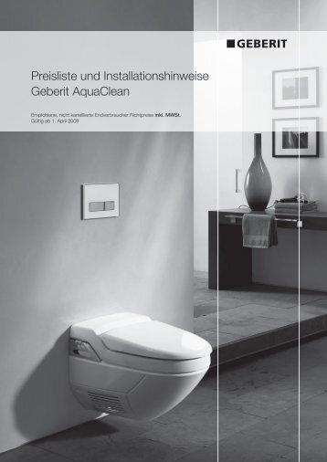 Neu Geberit Aquaclean Sela Das Dusch Wc Als Designobjekt Pdf