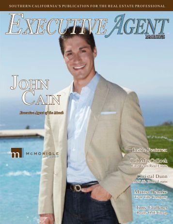 JOHN CAIN - Executive Agent Magazine