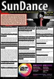 Events Insert - The Ibiza Sun