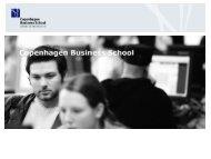 Kristian Hvass, Copenhagen Business School - DBTA