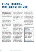 SELMA – HELbrEdS- MonitorEring i HjEMMEt - Lev Vel - Page 2