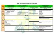 DIA 19/10/2008 (cursos pré-congresso) - SOVERGS