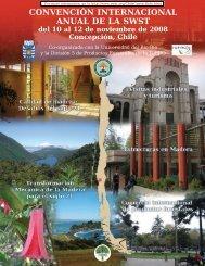 CONVENCIÓN INTERNACIONAL ANUAL DE LA SWST del 10 al 12 ...