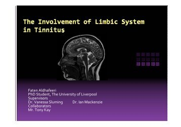 Limbicsystemresearch - Aintree University Hospitals NHS ...