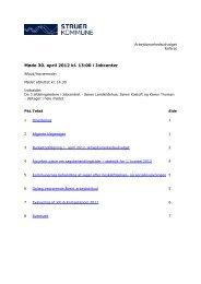 Referat Arbejdsmarkedsudvalg 30-04-2012 ID-2210 - Struer kommune