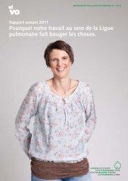 Rapport annuel 2011 - Ligue pulmonaire