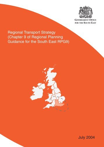 Regional Transport Strategy - Shepway District Council