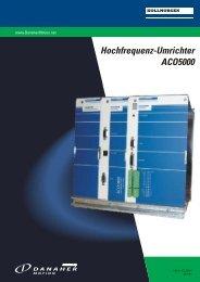 Hochfrequenz-Umrichter ACO5000 - Bibus Menos