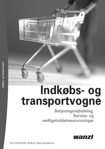 Indkøbs- og transportvogne - Expedit