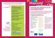 Plaquette Compétences clés (pdf - 323.9 ko) - Direccte