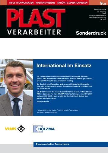 International im Einsatz Sonderdruck - HOMAG Group