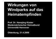 Windparks und Heimat - wab.biz
