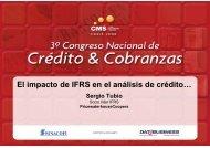 El impacto de IFRS en el análisis de crédito… - SINACOFI