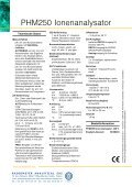 PHM250 Ionenanalysator - Radiometer Analytical - Seite 2
