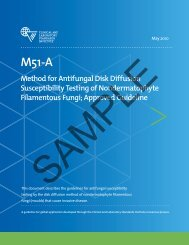 M51-A: Method for Antifungal Disk Diffusion Susceptibility ... - NetSuite