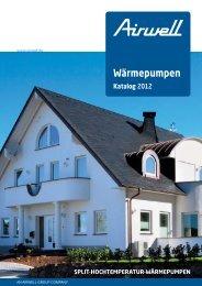 Wärmepumpen Katalog 2012 - Airwell