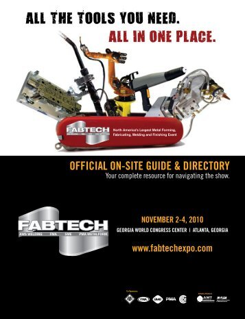 2010 Show Directory - Fabtech