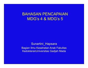 Prof.Sunartini_Bahasan MDG's_Pembahas.pdf - Kebijakan ...