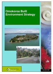 Omokoroa Built Environment Strategy - Western Bay of Plenty ...