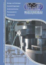 deutsch - HMP Maschinenbau Automatisierung Prozessztechnik