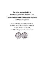 Forschungsbericht 2010: Ermittlung eines ... - der Hasomed GmbH