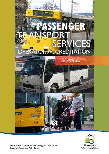 Operator Accreditation Manual - Transport