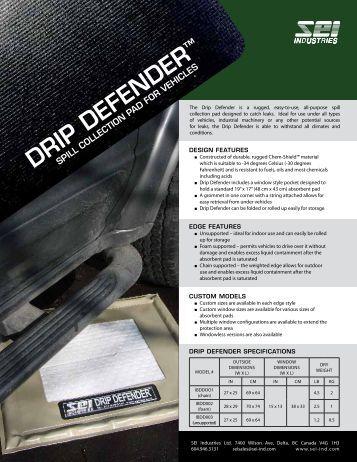 Drip Defender Brochure - SEI Industries Ltd.