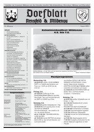 Dorfblatt August KOPIE 2005 .indd - Gemeinde Mildenau