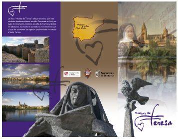 Folleto Ruta Huellas de Teresa - Ayuntamiento de Alba de Tormes